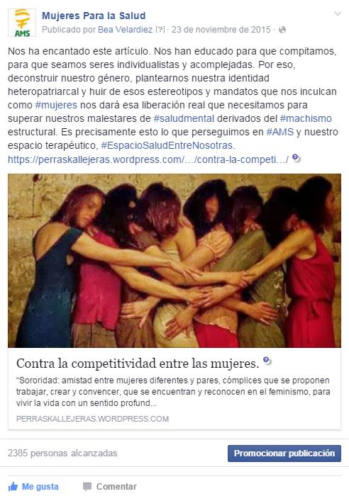 Contra la competitividad de las mujeres