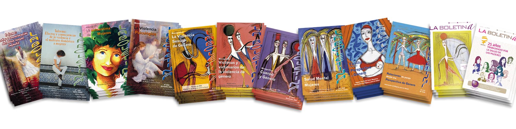 """Revista anual de AMS, """"La Boletina"""", una de nuestras publicaciones"""