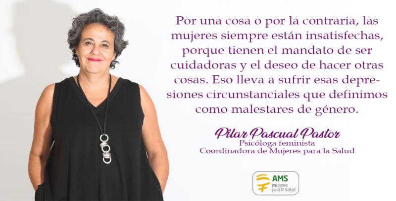 Pilar Pascual reflexiona sobre salud mental y género