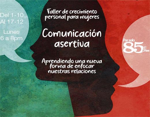 Taller de Comunicación Asertiva para mujeres