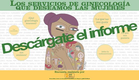 Informe Los servicios de ginecología que deseamos las mujeres