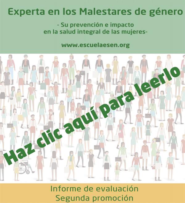 Informe de evaluación global Posgrado Malestares Género segunda promoción