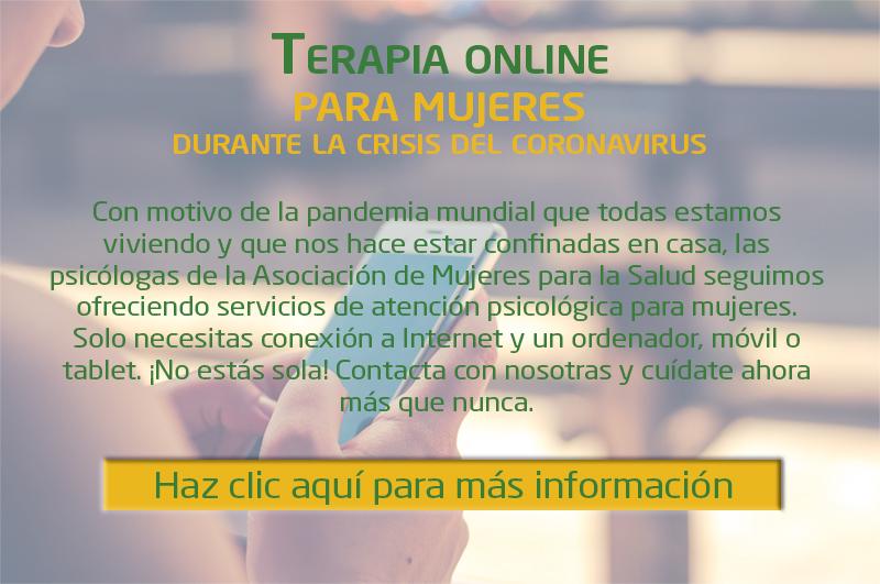 Terapias online para mujeres